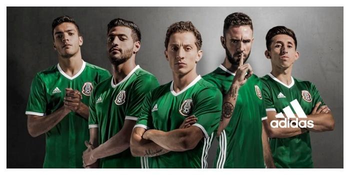 Regresa el color verde a la camiseta de la selección mexicana de fútbol 21a16ff8f1944