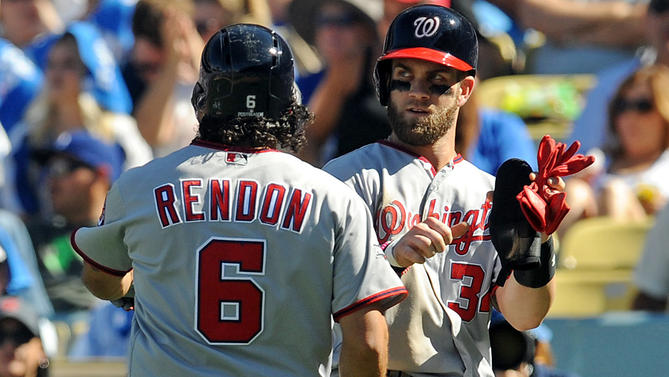 MLB: NLDS-Washington Nationals at Los Angeles Dodgers