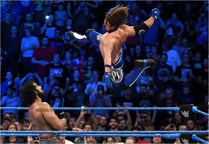 AJ Styles Campeón WWE