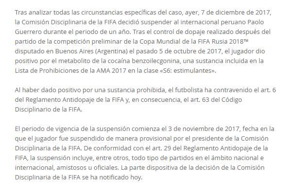 Paolo Guerrero FIFA